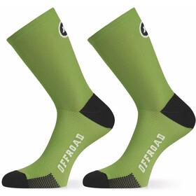 ASSOS XC Calcetines, pan green